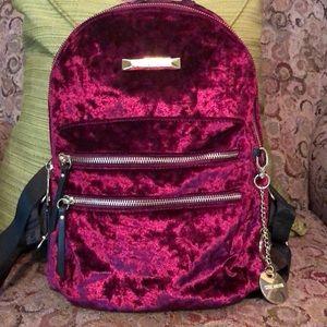 Steve Madden Velvet Backpack